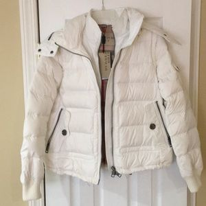 NWT Authentic Burberry Brit Down Coat